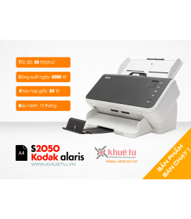 Máy scan, scanner Kodak Alaris S2050 (50ppm, 5000ppd, A4, USB)  | Workgroup  | Kodak  | khuetu.vn