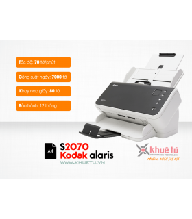 Máy scan, scanner Kodak Alaris S2070 (70ppm, 7000ppd, A4, USB)  | Workgroup  | Kodak  | khuetu.vn