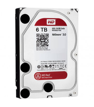 Ổ cứng chuyên dụng WD RED 6TB 3.5 Inch SATA HDD 5400rpm 64MB Cache (WD60EFRX)  | WD RED  | WESTERN DIGITAL  | khuetu.vn